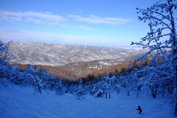 午後からスキー